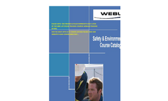 Safety & Environmental Training Course Catalog