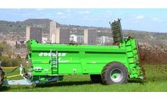 JOSKIN TORNADO - Model 3 - Single or Double Axle Muck Spreaders