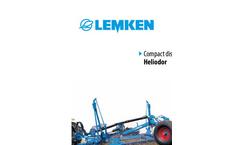 Heliodor - Model 8 - Compact Disc Harrows Brochure