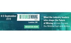 Future of Mining EMEA arrives in London with the focus on technology, development and sustainability