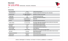 Model TP 175 PTO - Tractor-Mounted Chipper Brochure