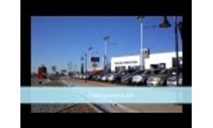 Solar Parking Lot Lighting Simulation & Installation | Supera Series | Greenshine New Energy - Video