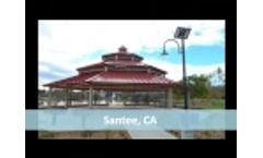Solar Park lighting Simulation & Installation | Greenshine New Energy - Video