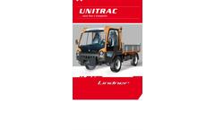Versatile Complete Self Propelled Equipment-UNITRAC 102