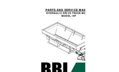 Model 00ETH - Endurance Truck Mount Hydraulic Spreader Manual