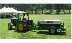 MagnaSpread - Model 00MS08 - Single Axle Fertilizer and Lime Spreader