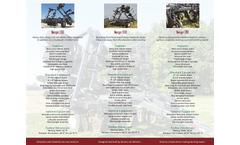 Avenger Series - Toolbars Brochure