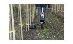 Mankar - Model One - Wheelbarrow Units for Convenient Treatment of Row Cultivations