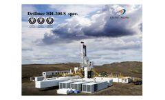 Geysir Drillmec - Model HH-200.S - Automatic, Hydraulic Rotary Drilling Rig - Brochure