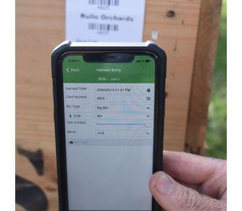GrowData - Handheld - Harvest App