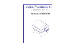 Cadillac - Model CG - Condensate Meter Brochure