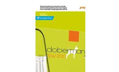 Dobermann - Model SW Series - Vertical Self Propelled Mixer Feeder Wagon Brochure