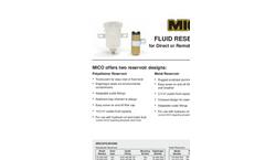 Fluid Reservoirs-Brochure