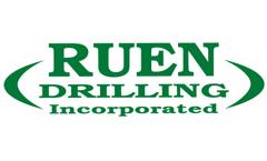 Ruen - Model BK 51 - Track Mounted Geotechnical Drill