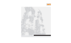 BARTEC BENKE - NIR - Process Analyzing Systems Data Sheet