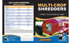 Multi Crop Shredders Brochure