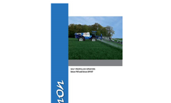 Xenon Pro and Expert - Self-Propelled Sprayers Brochure