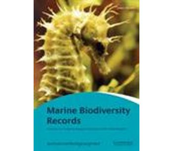 Marine Biodiversity Records