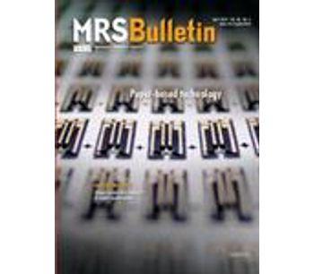 MRS Bulletin 2013