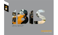 Mazzotti - Model MAF 4240/5240/6240 - Self-Propelled Machine Brochure