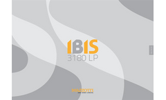 Mazzotti - Model IBIS 3180 - Self Propelled Machine Brochure