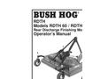 Bush Hog - Model P Series - Zero Turn Commercial Mowers- Brochure