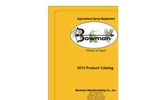 Bowman Product Catalog- Brochure
