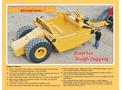 Pulldozer - Model 1220 - Land Scraper - Brochure