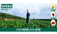 Meet Growing together, watering better: Irritec`s new bi-monthly newsletter for experts and enthusiasts in the field