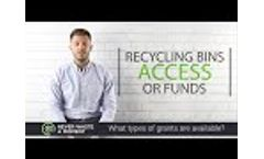 Recycling Grants | Never Waste A Moment | #NWAM Episode 15 Video