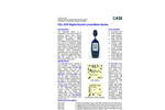 Casella-CEL - CEL-24X - Digital Sound Level Meter Series - Datasheet