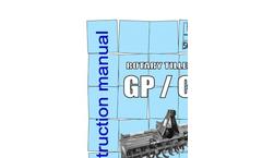 Model GP - Rotary Cultivators Brochure