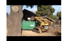Best Skid Steer Grapple Attachment Period -https://youtu.be/2zmMZ_ete7U Dumpster Loading the easy way with Demo-Dozer Grapple Video