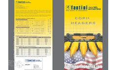 Fantini - Model L03 - Rigid Corn Harvesting Header - Brochure
