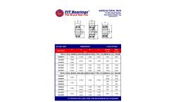 Model Tri-Ply - Agricultural Bearings Brochure