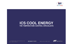 ICS - Air Cooled High Speed Centrifugal Compressor Chiller Brochure
