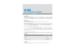 Soprema ALSAN - Biodegradable Cleaner - Technical Data Sheet