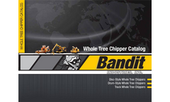 19 Disc-Style Whole Tree Chippers Model-1900- Brochure