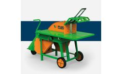 Roller-Bench Saw - Model RZ/E - Firewood Saw for Tractor Drive