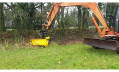 Rabaud: Forestry crusher: XYLOR 1207 PE - Video