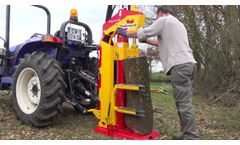 RABAUD - Hydraulic log splitters: XYLO - Video