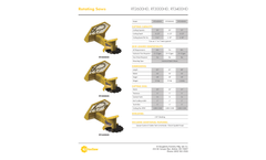 Dougherty - Model RT Series - Hydraulic Rotating Tree Saw Brochure
