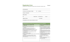 Residuals and Biosolids 2011 - Registration Form