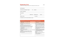 Collections Systems 2011 - Registration Form