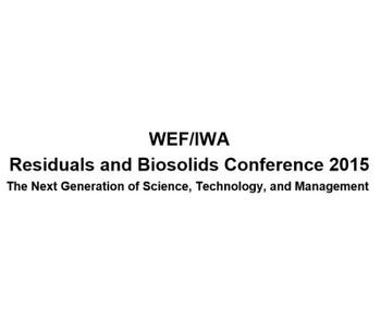 WEF/IWA Residuals and Biosolids Conference 2015