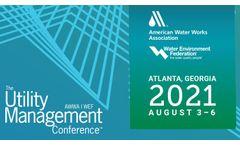 WEF/AWWA Utility Management Conference 2021