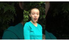2020 US Stockholm Junior Water Prize Oregon State Winner Lila Schweinfurth - Video