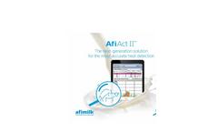 AfiAct - Model II - Cow Leg Sensor Brochure