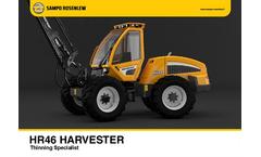 Sampo-Rosenlew - HR46 - Harvester Brochure
