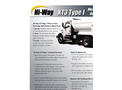 Hi--Way - Model XT3 Type I - Multi-Purpose Dump Body - Brochure